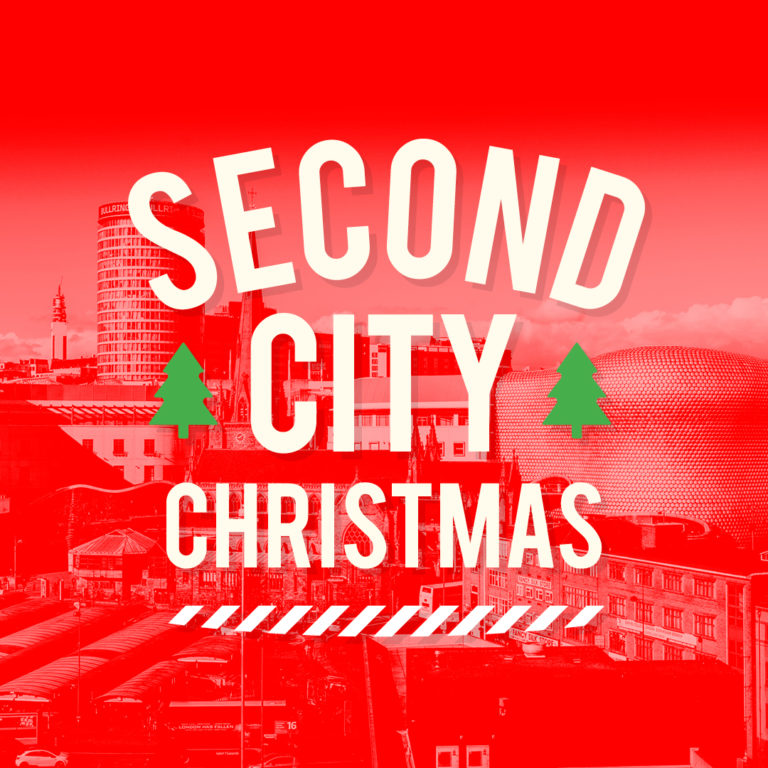 second city christmas logo